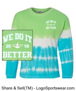 J. America Adult Game Day Tie Dye Jersey Design Zoom